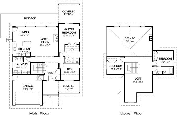 New Cedar Homes Lochlin Plan Month