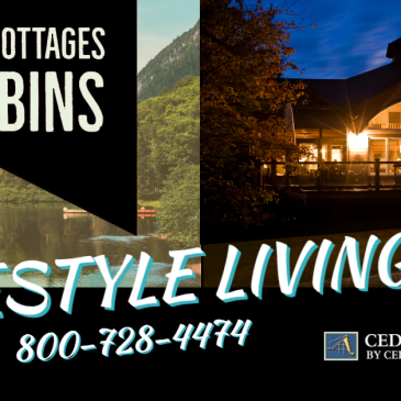 Custom Cottages Cabins Cedar Homes Lifestyle Dream Living