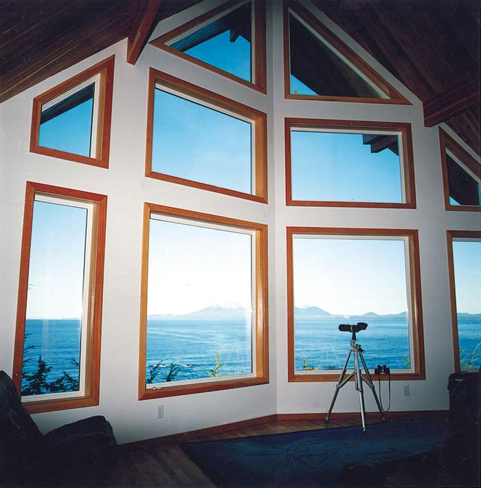 sitka small cabin post and beam
