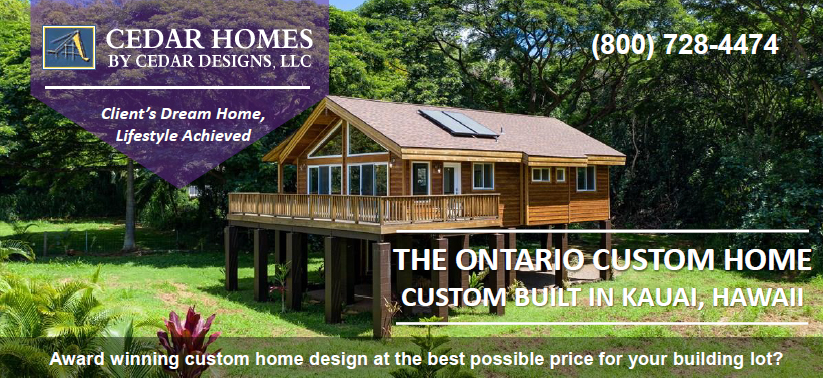 CUSTOM HOUSING AFFORDABILITY CEDAR DESIGNS