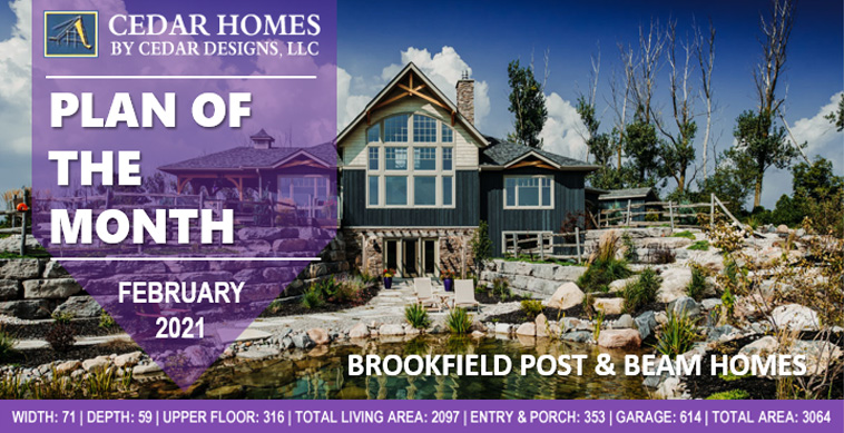 House Plans Brookfield Award Winning Cedar Homes