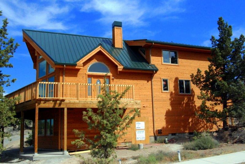 Client Builds Avondale Cedar Home Central Oregon Cedar Homes