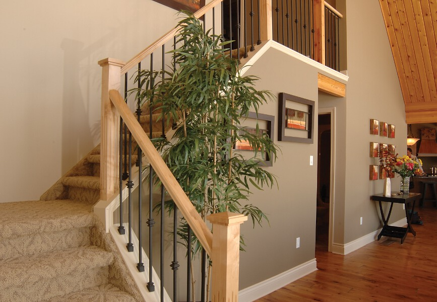 Stairs And Railings Cedar Homes