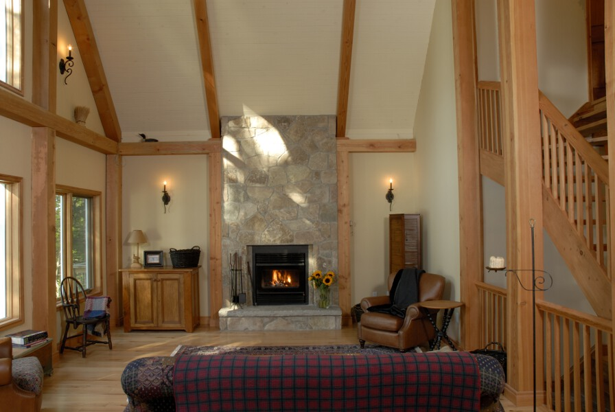 Fireplace Ideas - Cedar Homes