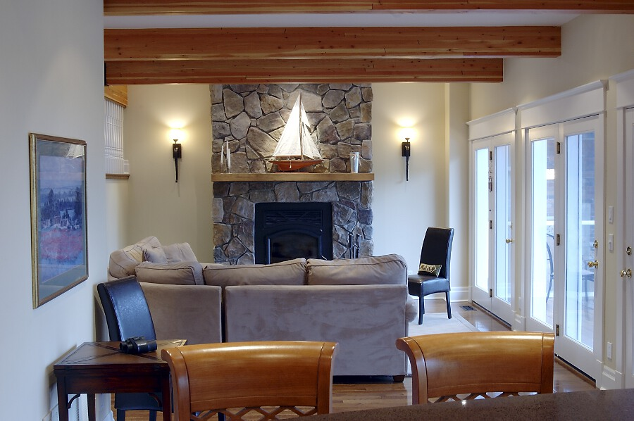 Fireplace ideas cedar homes - Houses with fireplaces ...