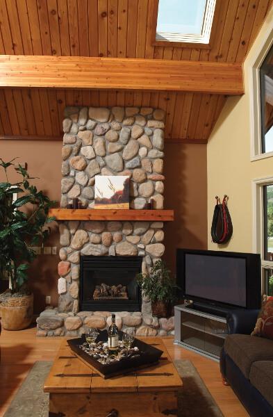 Fireplace Ideas Cedar Homes