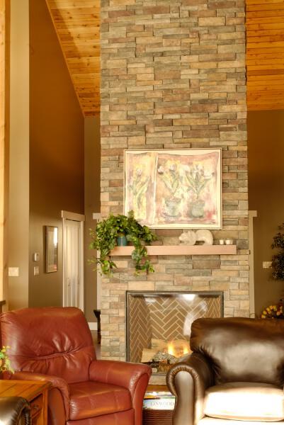 Fireplace Ideas - Cedar Homes