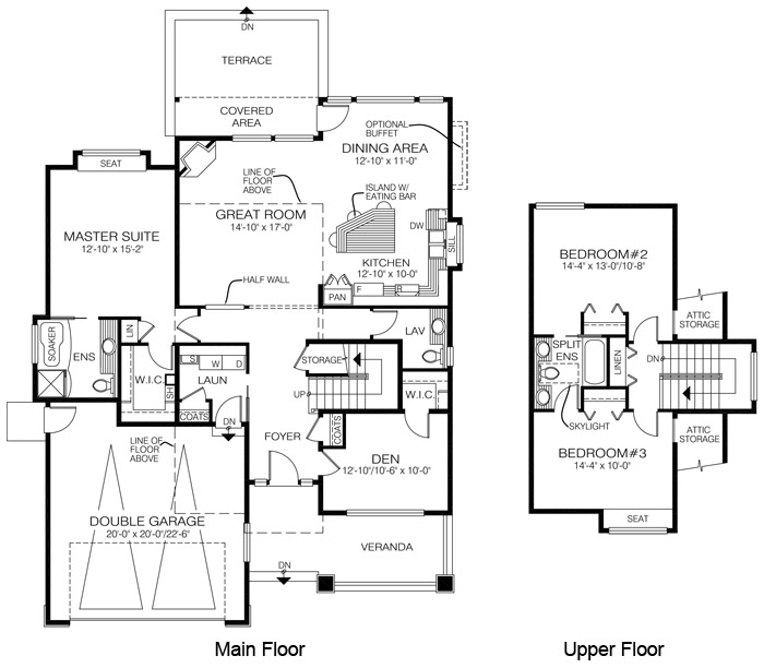 house plans the aldergrove - cedar homes