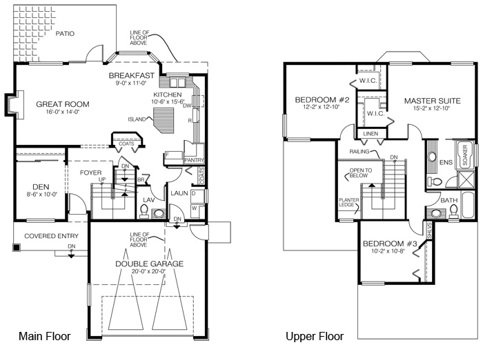 House plans the barlow cedar homes for Cedar home floor plans