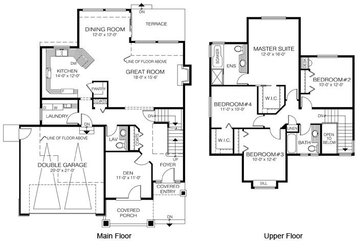 House Plans The Canby Cedar Homes