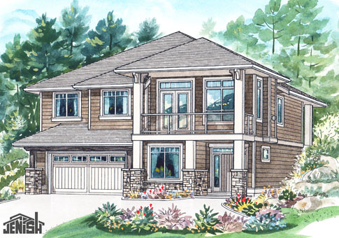 house plans the eckhart - cedar homes
