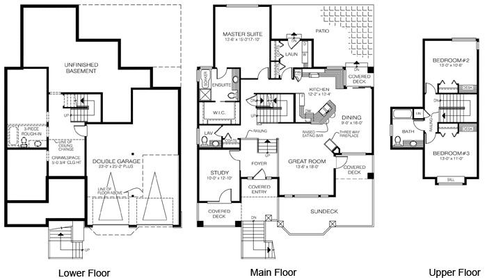 House plans the edgemont cedar homes Cedar homes floor plans