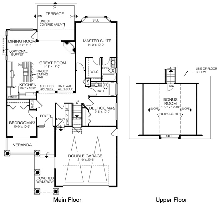House plans the fulton cedar homes for Cedar home floor plans