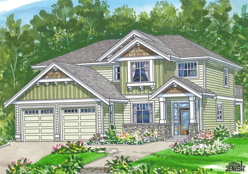 House Plans The Grant Cedar Homes