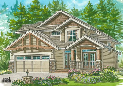 House Plans The Henderson Cedar Homes