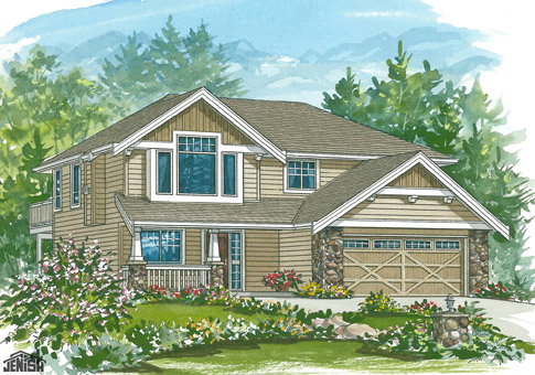House plans the hudson cedar homes for Hudson home designs