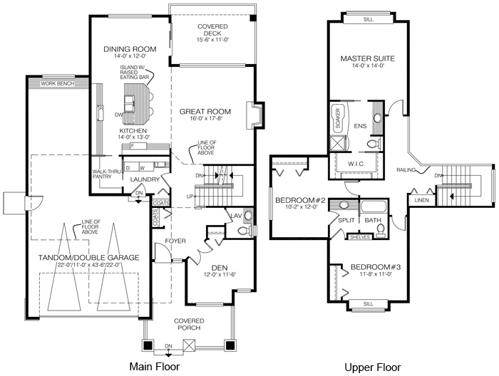 House plans the kent cedar homes for Cedar home floor plans