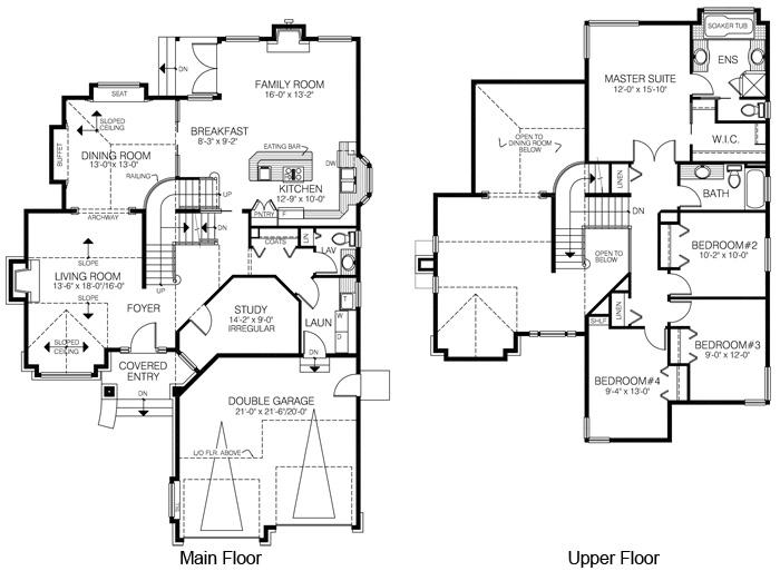 House Plans The Singleton Cedar Homes
