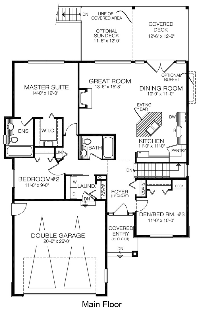 House plans the thornhill cedar homes for Cedar home floor plans