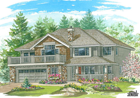 house plans the walker - cedar homes