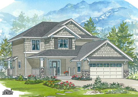 House Plans The Dunedin Cedar Homes