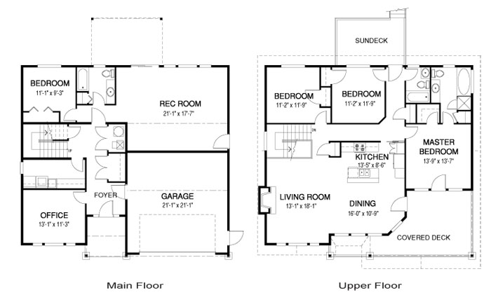 House Plans The Ellington Cedar Homes