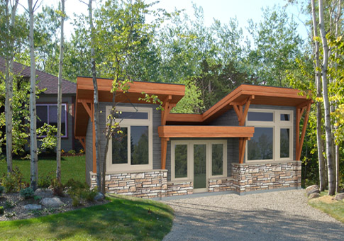 House plans the laneway 1 cedar homes for Cedar house plans
