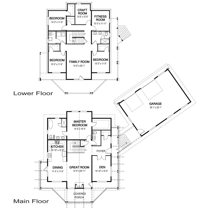House Plans The Harwood Cedar Homes