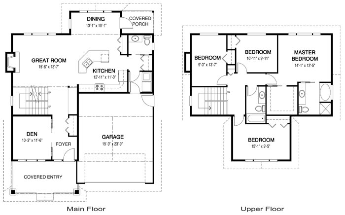 House Plans The Mackintosh Cedar Homes