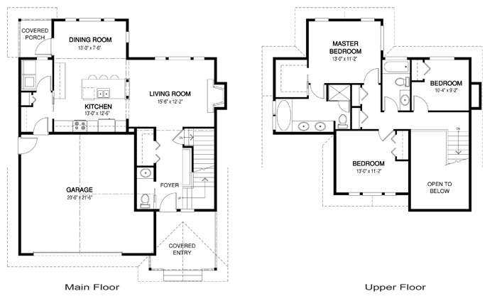 House plans the stickley cedar homes for Master retreat floor plans