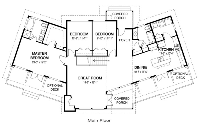 Modern architectural house plans escortsea Architectural floor plans