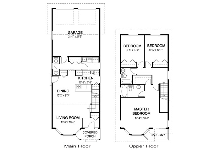 House Plans The Avalon 1 Cedar Homes