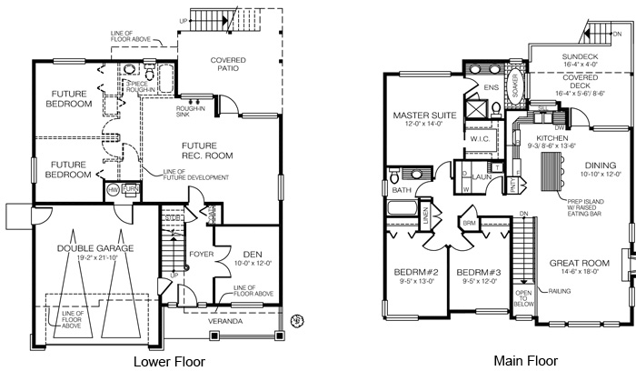 Wonderful 2 Piece Bathroom Floor Plans : House Plans The Thames Cedar Homes