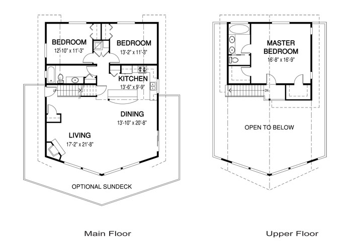 House plans the alpine 2 cedar homes for Homes with master bedroom on first floor for sale