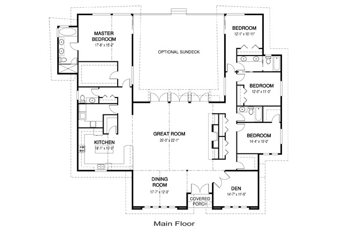 House plans the bainbridge cedar homes for Cedar home floor plans