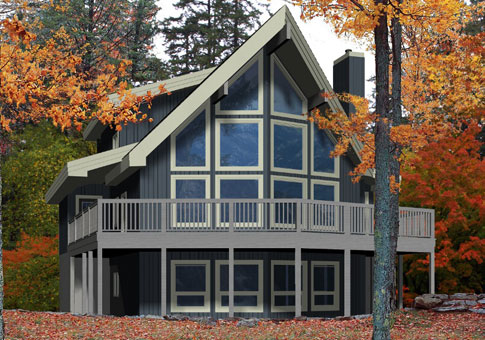 House Plans The Bonneville Cedar Homes