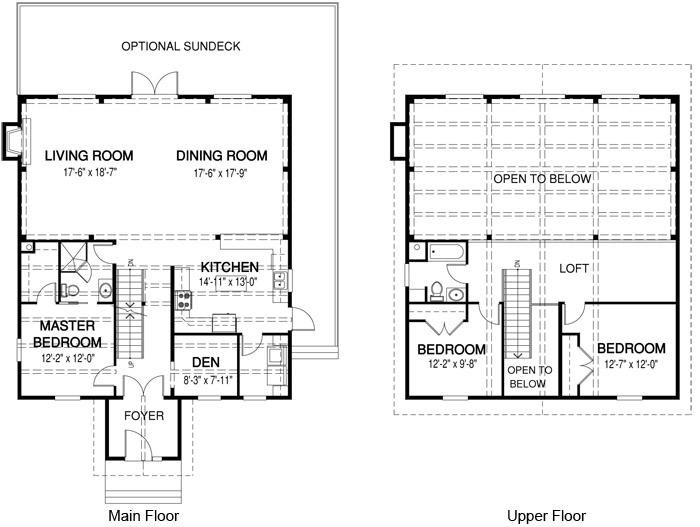 House Plans The Canterbury Cedar Homes