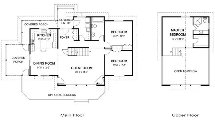 House plans the carling cedar homes for Award winning house designs in india