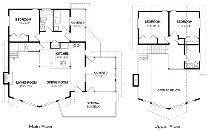 House plans the chandos cedar homes for Cedar home floor plans