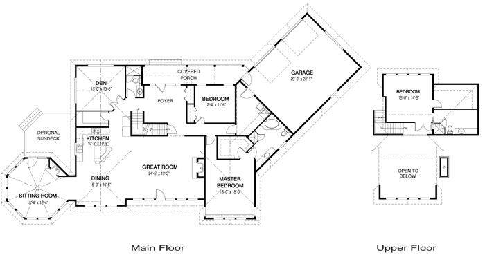 House Plans The Clearview Cedar Homes