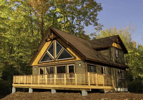 House plans the deerbay cedar homes for Cedar cabin floor plans