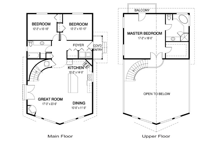House Plans The Delta - Cedar Homes