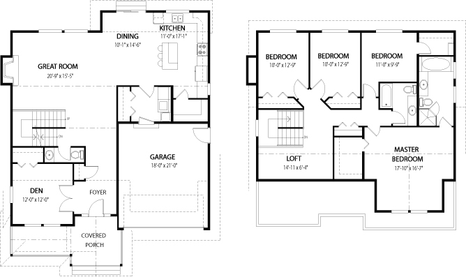 House plans the dogwood 1 cedar homes Cedar homes floor plans