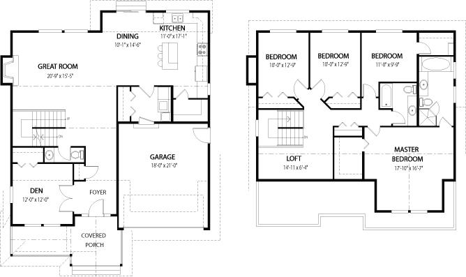 House plans the dogwood 1 cedar homes Cedar homes floor plans
