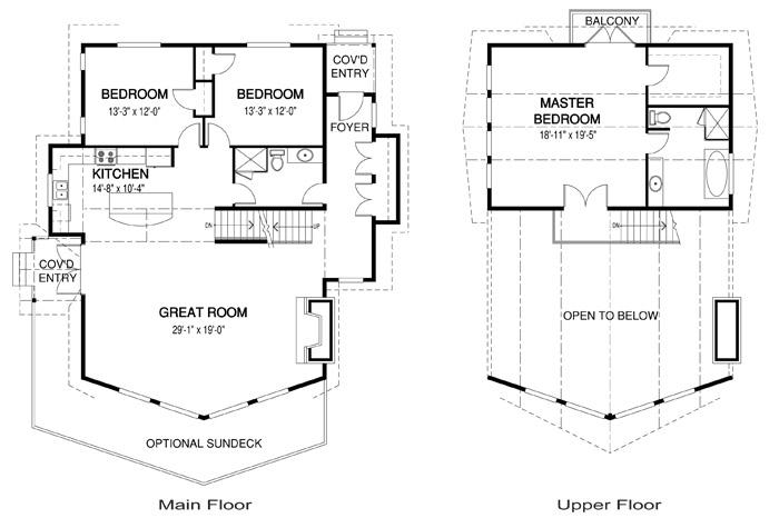 House plans the fairmont 2 cedar homes for Cedar home floor plans