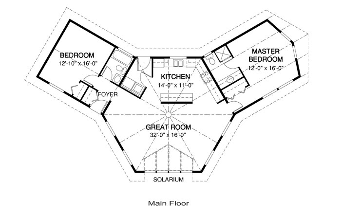 odd shaped house plans