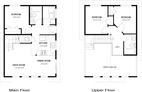 House Plans The Griffin - Cedar Homes