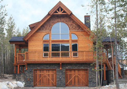 House plans the kimberley cedar homes for Maine post and beam kits