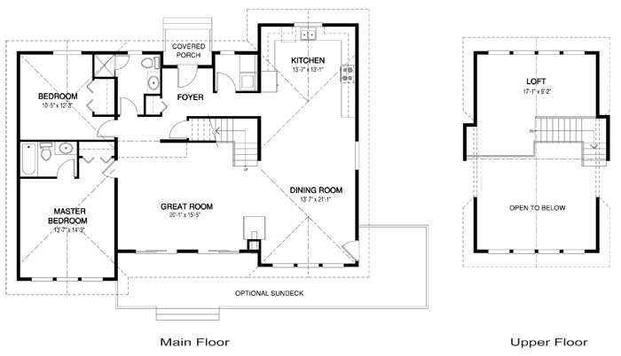 House plans the minett cedar homes Cedar homes floor plans