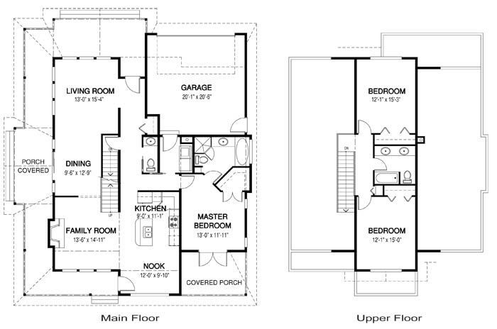 House Plans Osprey 1 Cedar Homes